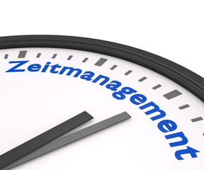 Zeitmanagement 3d