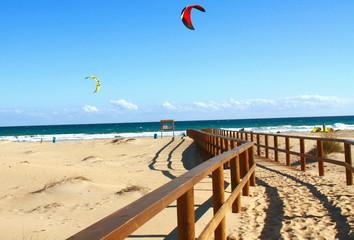 Playa Arenales Alicante y kitesurf
