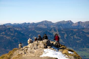 Blick vom Nebelhorn - Allgäuer Alpen - Deutschland