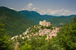 Leinwandbild Motiv Castelvecchio di Rocca Barbera