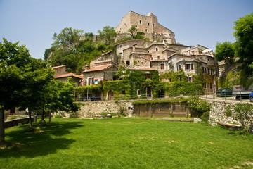 Castelvecchio di Rocca Barbera liguria Italy