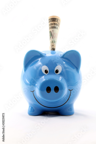 Dollar banknote Piggy Bank