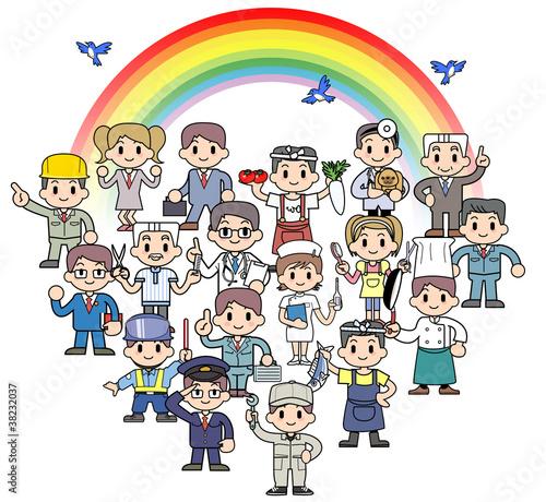 Rainbow spirited Society