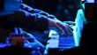 Rock Keyboard Blue