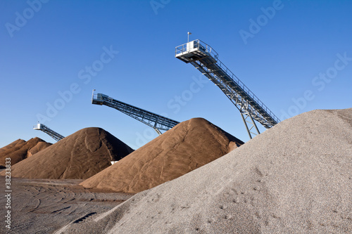 Fototapete Fabrik - Industrie Landschaft - Poster - Aufkleber