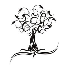 albero tribale