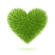 Grass heart symbol