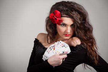 Woman fortuneteller