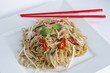 Fried spicy noodle