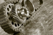 gears and timing chain in duplex toning