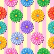 Flowery seamless background 5