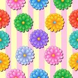 květinové bezešvé pozadí 5