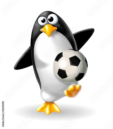 pinguino calciatore