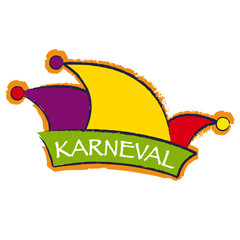 Karneval Narrenkappe