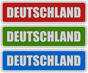 3 Sticker rgb oc DEUTSCHLAND