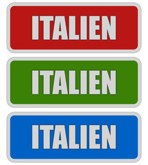3 Sticker rgb oc ITALIEN