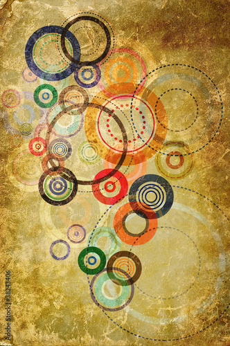 abstract circle art