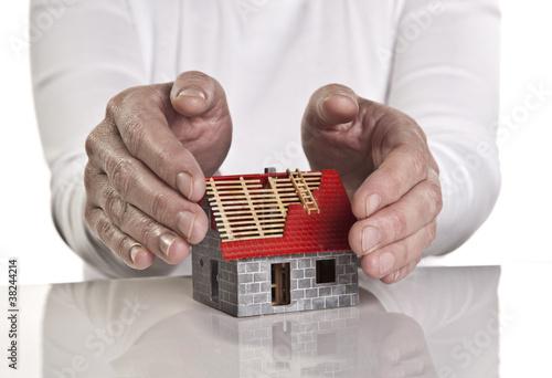 Schutz für den Neubau
