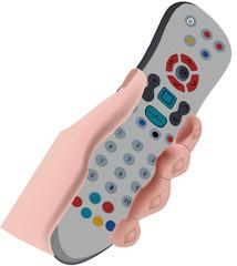 telecomando per televisione