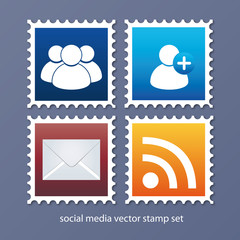 social media stamp buttons 2