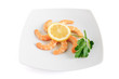 lemon and shrimps - gamberi e limone