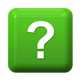 Green question sign button