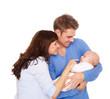 familie eltern baby