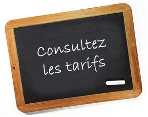 consultez les tarifs