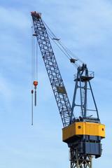 Kran im Hamburger Hafen