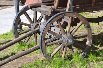 Old antique wagon