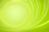 Fototapety Abstract green background power energy storm circles