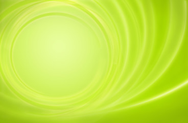 Abstract green background power energy storm circles