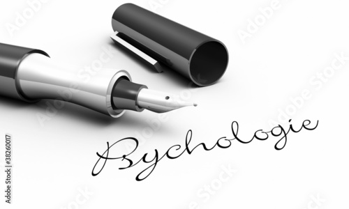 Psychologie - Stift Konzept