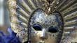 Close-up mask Venice Carnival