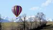 volo di una mongolfiera