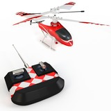 3d radio controller remote and helicopter