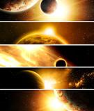 Fototapeta astronomia - atmosfera - Tła