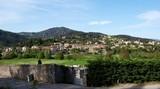 Ardeche village in France