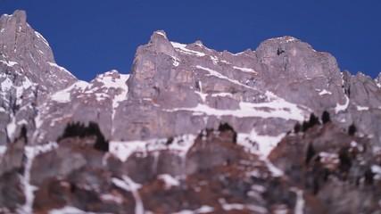 Bergkette Schwenk
