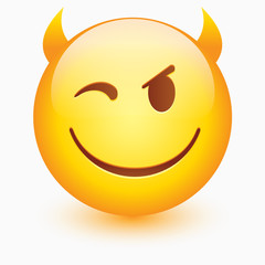 Vector smiley face