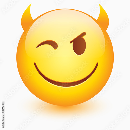 Vector smiley face