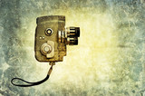 retro movie camera