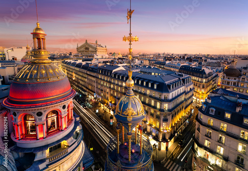 Fototapeten,paris,frankreich,dach,dach