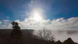 Sonne über der Eifel poster
