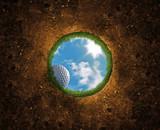 Fototapeta sprzęt - zabawa - Golf