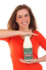 Laktosefreie Milch
