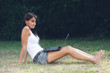 studius girl at the park...ingleseitalianospagnolo.?.studious gi