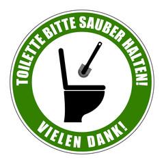 symbol toilette reinigen IV