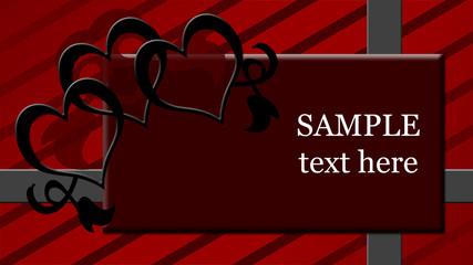 Valentines Romantic Template