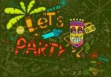 Fototapety Tiki Party